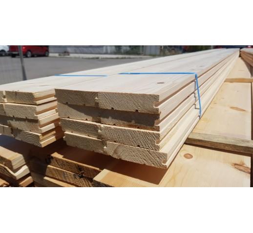 Wooden floor 9cm / 2.5cm; 4m